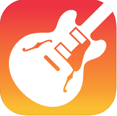 ガレージバンドのアプリ画像